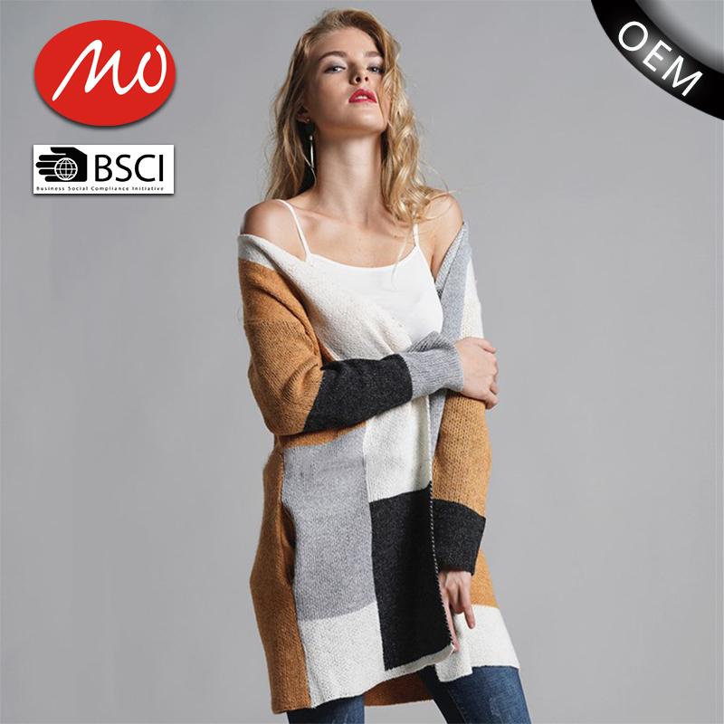 Fancy Long Cardigan Chunky Plus Size Sweaters Women For Wholesale