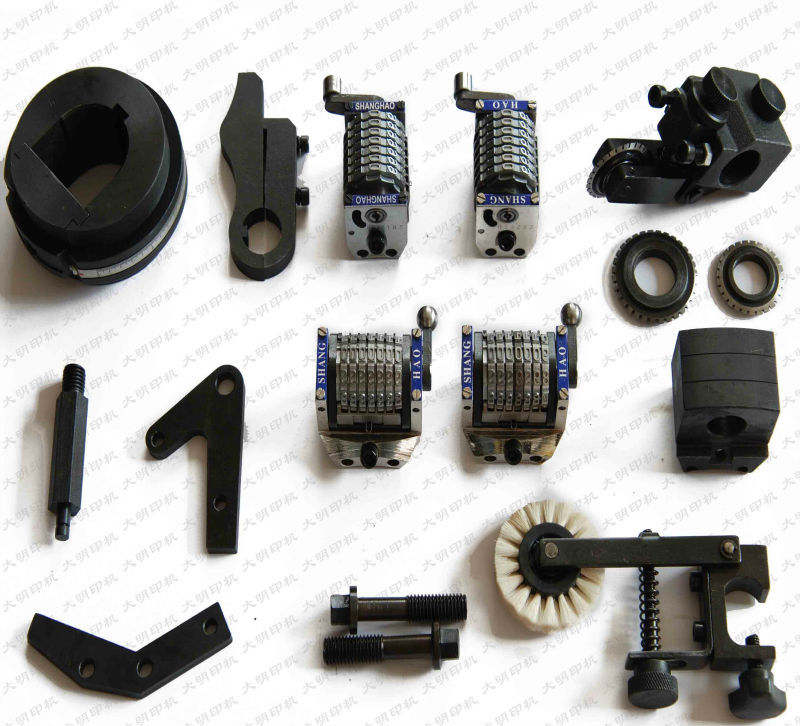 ryobi spare parts fuji frontier 370 numbering head printing equipment parts for sale with best price.