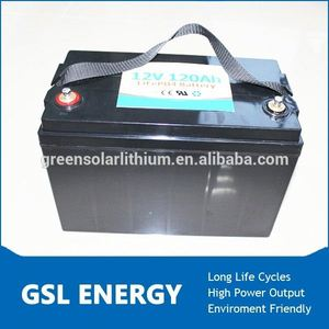 12V 120Ah electric motorcycle lifepo4 lithium battery pack,golf trolley battery