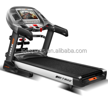 IPO Best Commercial Quality Treadmill 2.5hp Electric Motor With TV/ Massage And Twister And USB XT2