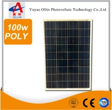 10 kw solar panel 100w poly for home solar energy system