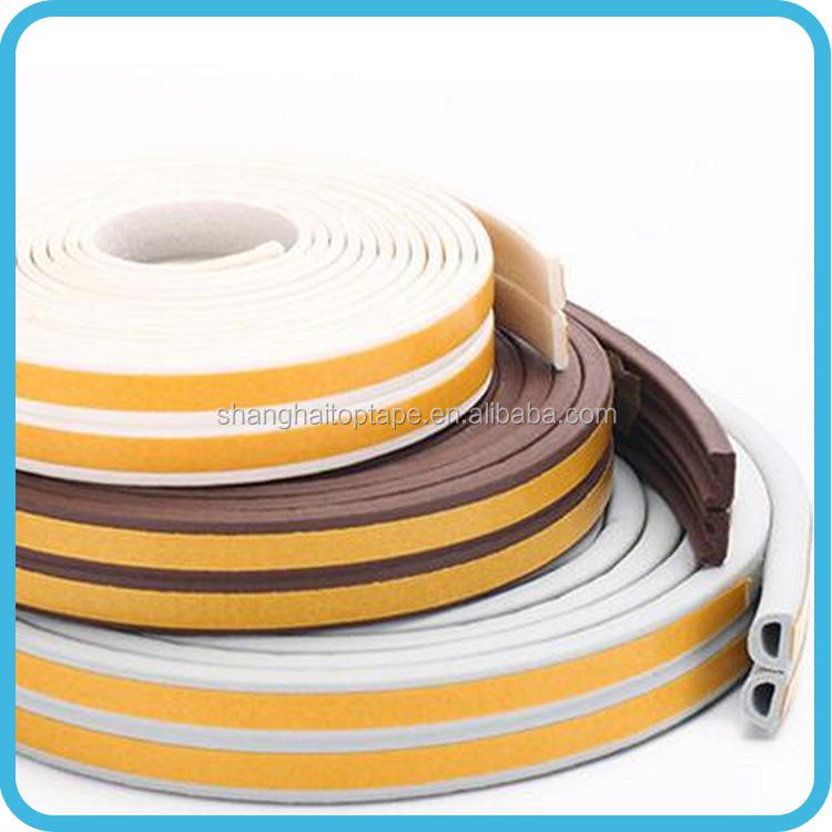 Bulk production colorful rubber seal strip door seal