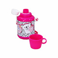 Tinplate water bottles with cup for kids