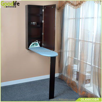 Goodlife factory top selling model wall mounted folding ironing board