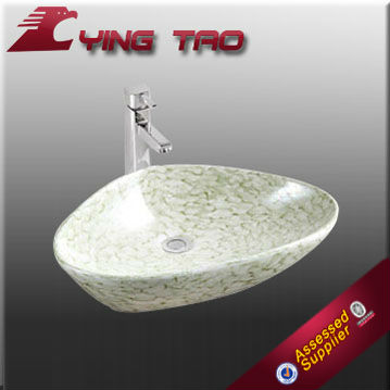beautiful faucet accessories sanitary ware pretty new design full paineted shower basin