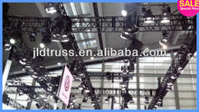 tube aluminum 6061-T6 stage truss structure