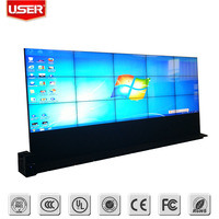 "55"" 5.3mm bezel wall mounted digital advertising screens for sale"