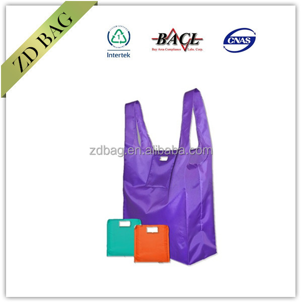 New Eco Travel Handbag Foldable Shopping Reusable Grocery Tote Storage Pouch