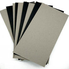 Hot sale laminated pressed grey board paper