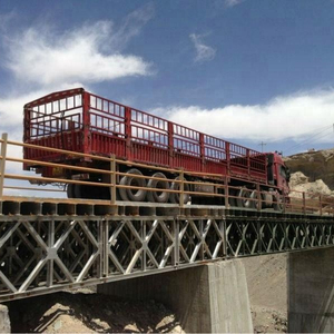 Customized service steel bailey bridge construction manufacturer cheapest