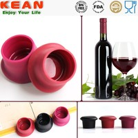 Reusable Leak-proof Soft Silicone Wine Stopper Base