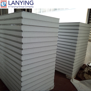EPS sandwich panel cold room sandwich panel insulated steel roofing panels