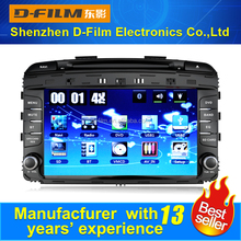 2 din Bluetooth winCE vision car DVD player for Sorento in china