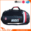 New arrival cheap custom logo pvc shoulder man sport duffel bag