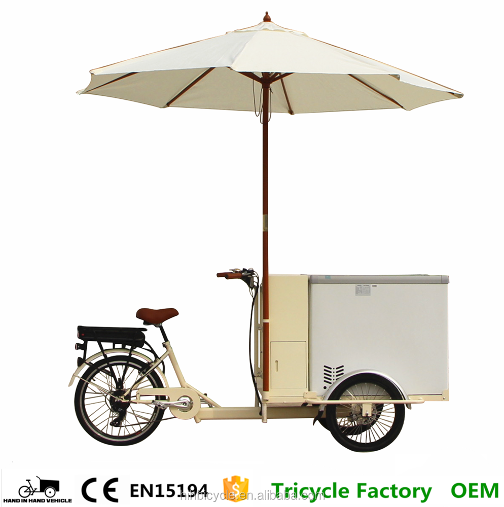 High Quality cold drink mexican ice cream solar bicycle for sale