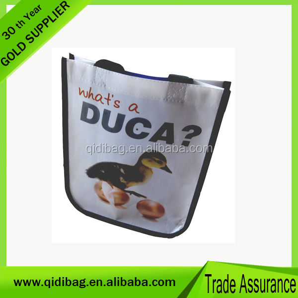 100% Trade Assurance promotional bag burlap tote bag