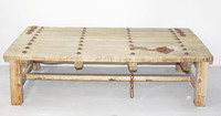 CS1Vintage,antique wooden rustic coffee table