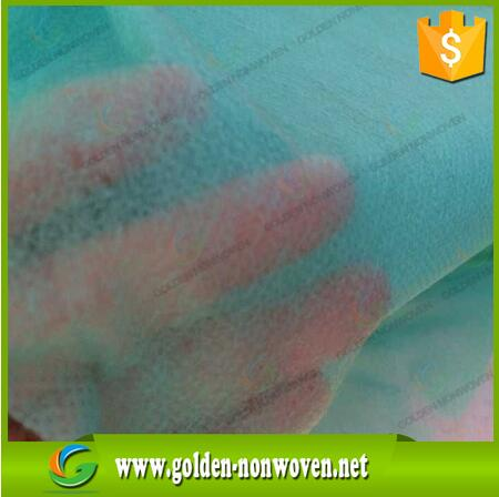 12gsm 160cm width Hospital non-woven interlining fabric manufacturer for disposable airline headrest cover