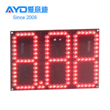 Outdoor LED Display Board 7 Segment LED Display Gas Price Sign