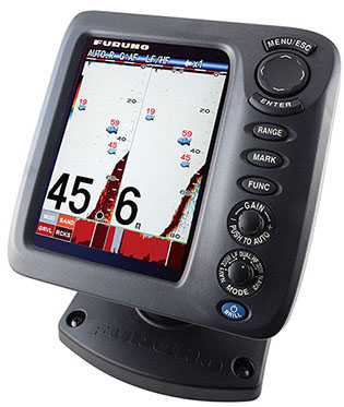 "Furnuo FCV 688 5.7"" COLOR LCD sonar fish finder for boat"