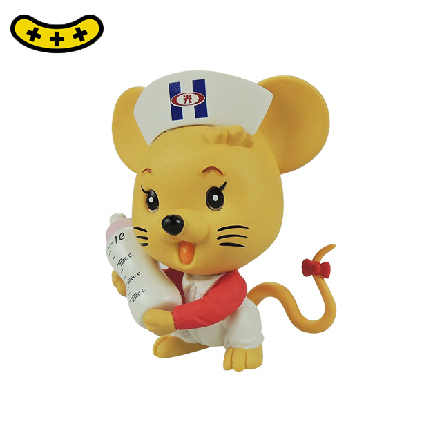 Icti certificated manufacturer custom made cartoon animal baby toys mouse  doll
