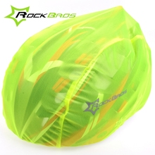 Rockbros Windproof Dust-proof Rain Cover MTB Road Bike Cycling Cycle Ultra-light Helmet Covers New, 4 Colors