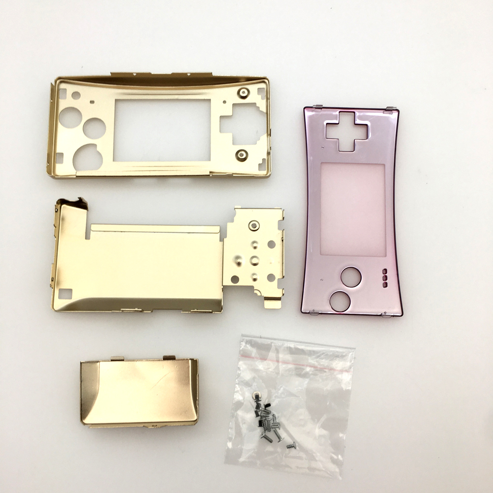 New blue Replacement Full Housing Shell Case Front Bottom Case Cover for Nintendo Gameboy Micro GBM