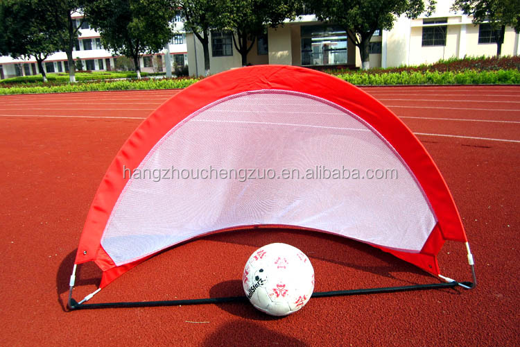 Small fiberglass Ball Goal, Kid Play goal ,pop up football goal