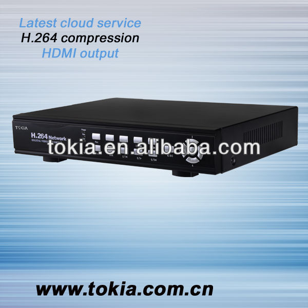 TOKIA Network H.264 Compression Stand-Alone 8CH DVR