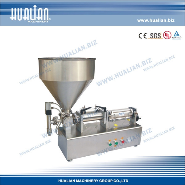 HUALIAN 2015 Paste Piston Filler For Medicine