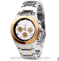 Charming and fashionable style stainless steel MEN `S wrist watch