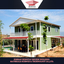 Hot Sale Modern 2 Bedroom Prefab Homes for Costa Rica