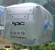 Giant inflatable cube helium balloon for advertising