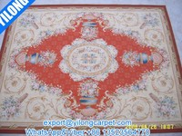 Hand-Woven handmade aubusson wool carpets ( WFC-11B)