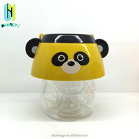 PET plastic jar and container ,animal shaped jar