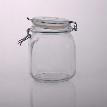 empty glass jars cosmetic for candle making