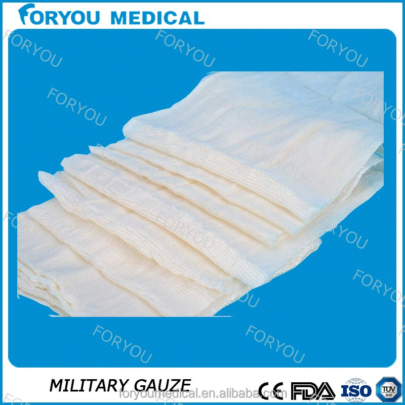 hemostatic cotton gauze with CMC material