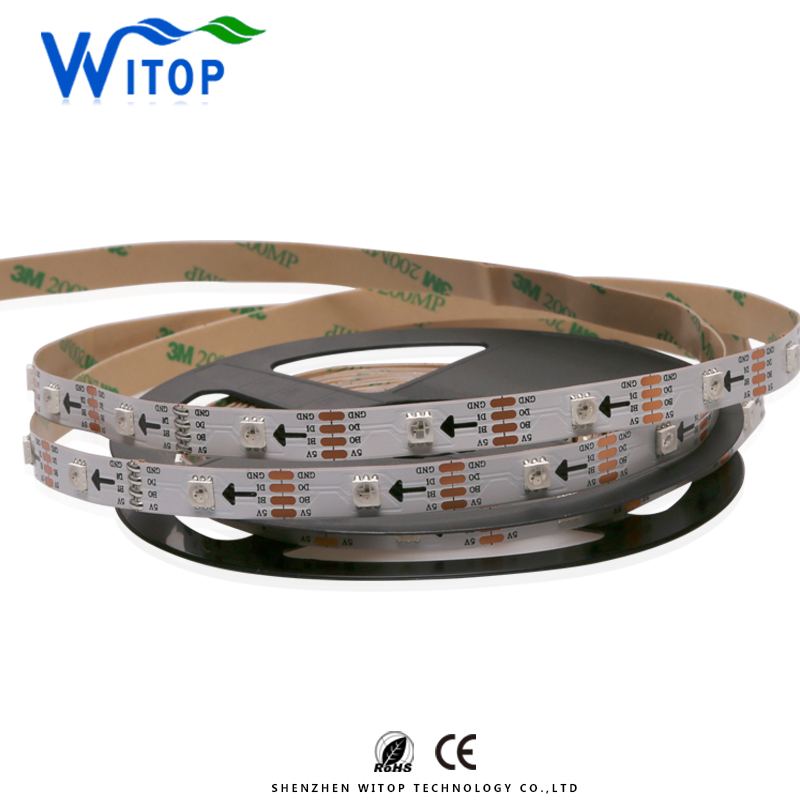 Addressable dream color flex light Breakpoint Continuingly support 30leds ws2813 led strip