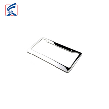Blank Car License Plate Cover Custom Metal Number Plate Frame