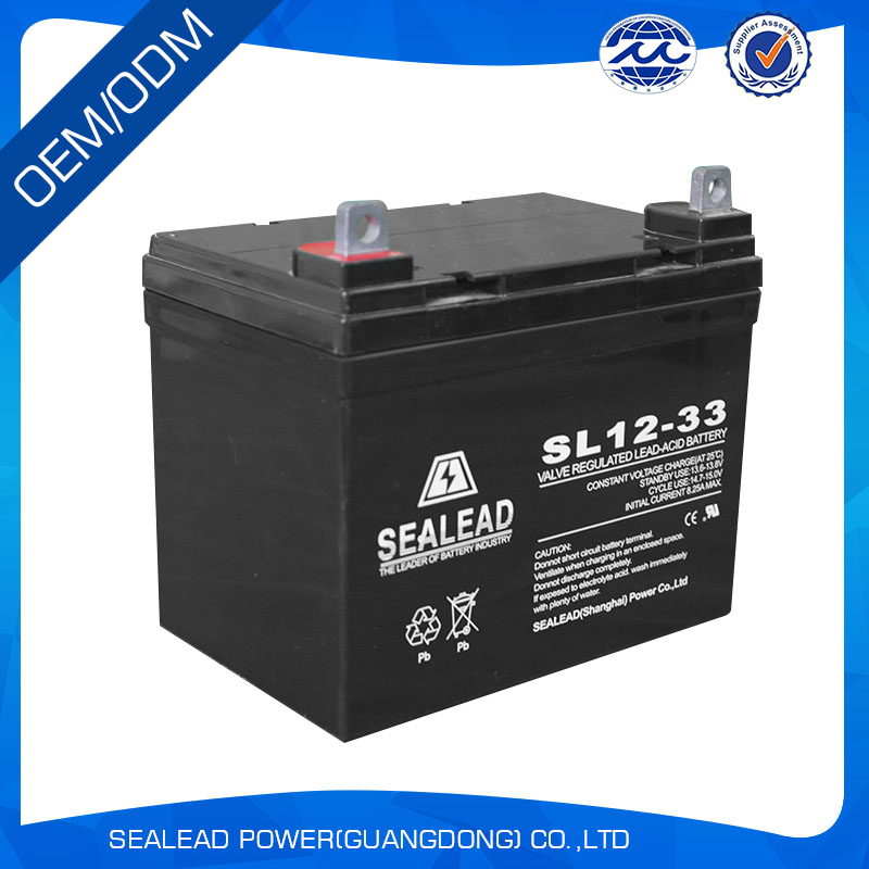lead acid battery 12v 33AH for power tools from china