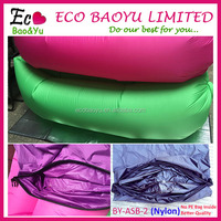 Premium Quality Nylon Inflatable Lounger Outdoor