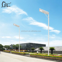Latest design street light PIR sensor solar street light 50W