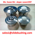 customized Heavy Duty Ball transfer Units SP Series Model SP-30 and SP-45 but the bolt is TEFLON PLASTIC NYLON not steel