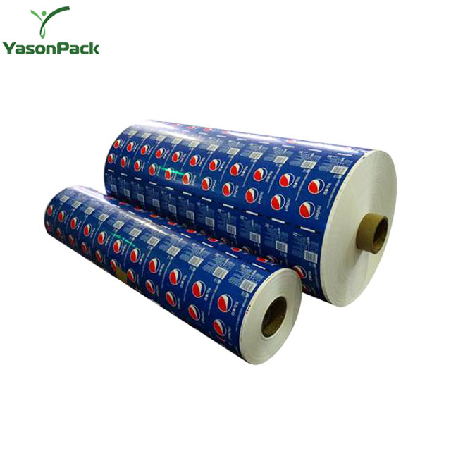 Yason liquid labels mylar label printing frozen food bag/sealable transparent standing pouch heat shrink wine label
