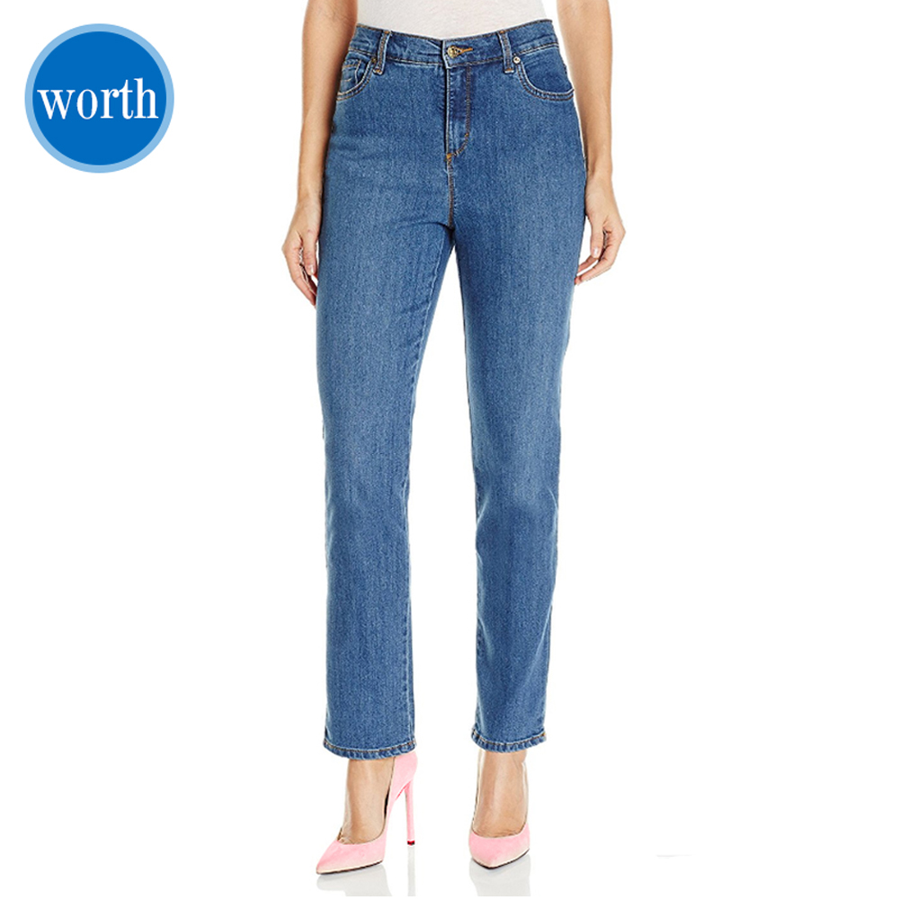 Worth Garment Ladie Jeans Slim Fit Women Classic Tapered Style