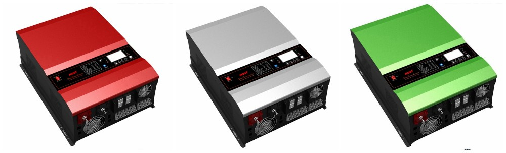 High Capacity 15KVA 12KW Hybrid Low Frequency Solar inverter with MPPT Charger
