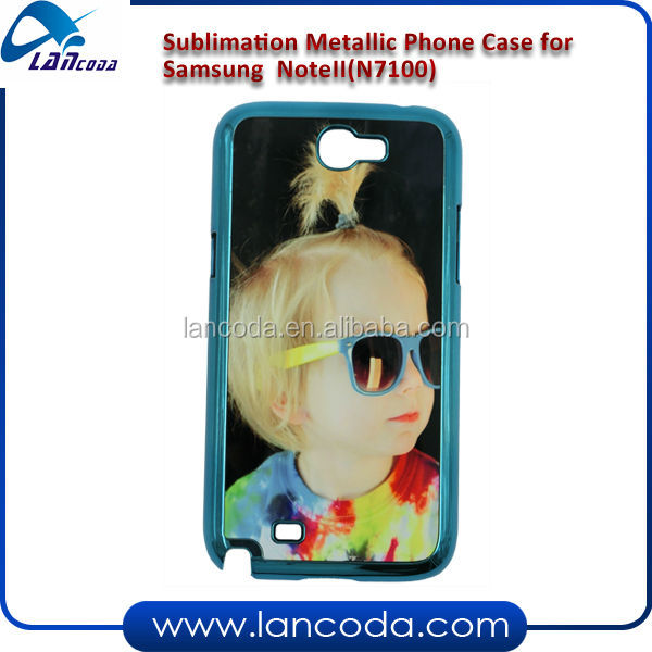 sublimation heat transfer phone case for Samsung Note II N7100