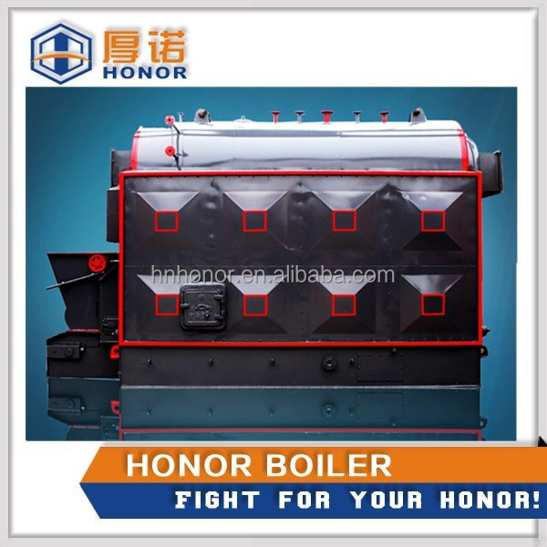 Hot sale Chain grate stoker wood chips timbers rie husk fuels waste biomass steam boiler
