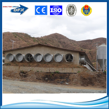 cheap china steel fabrication prefabricated chicken farm building
