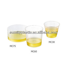 30ML 60ML 75ML Plastic PP Measuring Cups